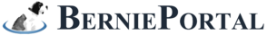 BerniePoral Logo Large Dark and Blue