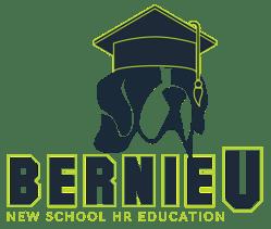 BernieU Grad Cap Logo with tagline-3