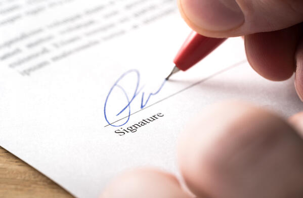 how to store hr documents and signatures