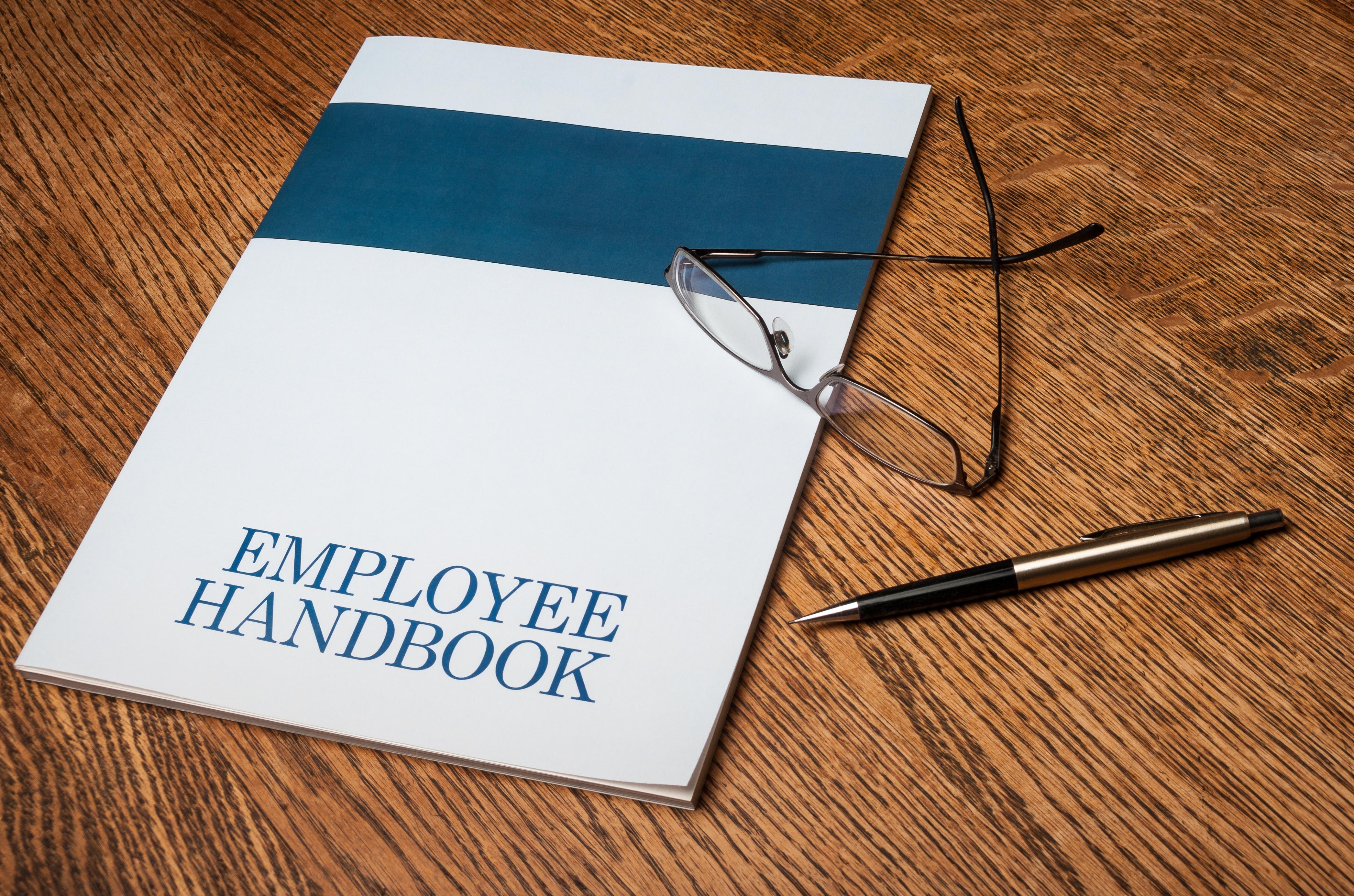 How do I write an employee handbook?