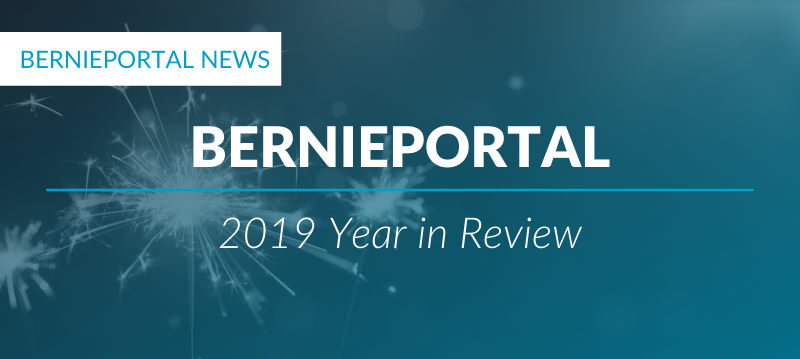 What we've been up to in 2019: BerniePortal's year in review