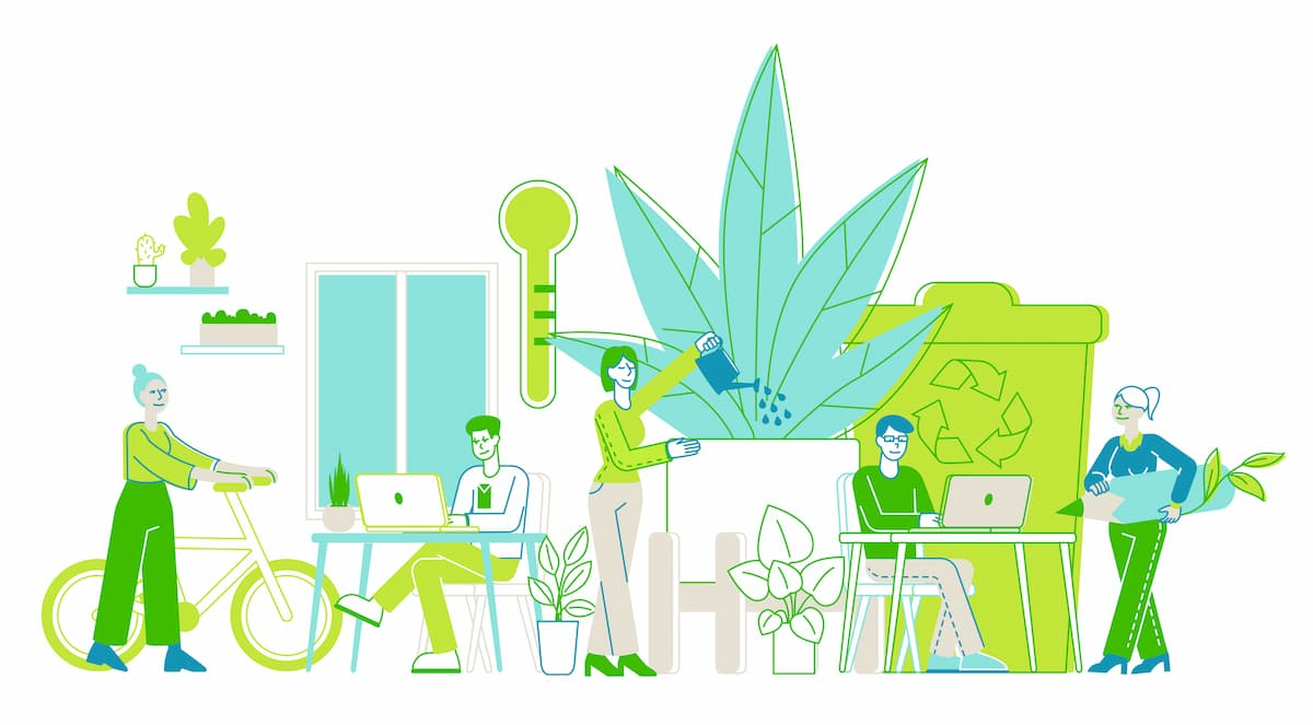 How Your Office Can Be More Environmentally-Friendly