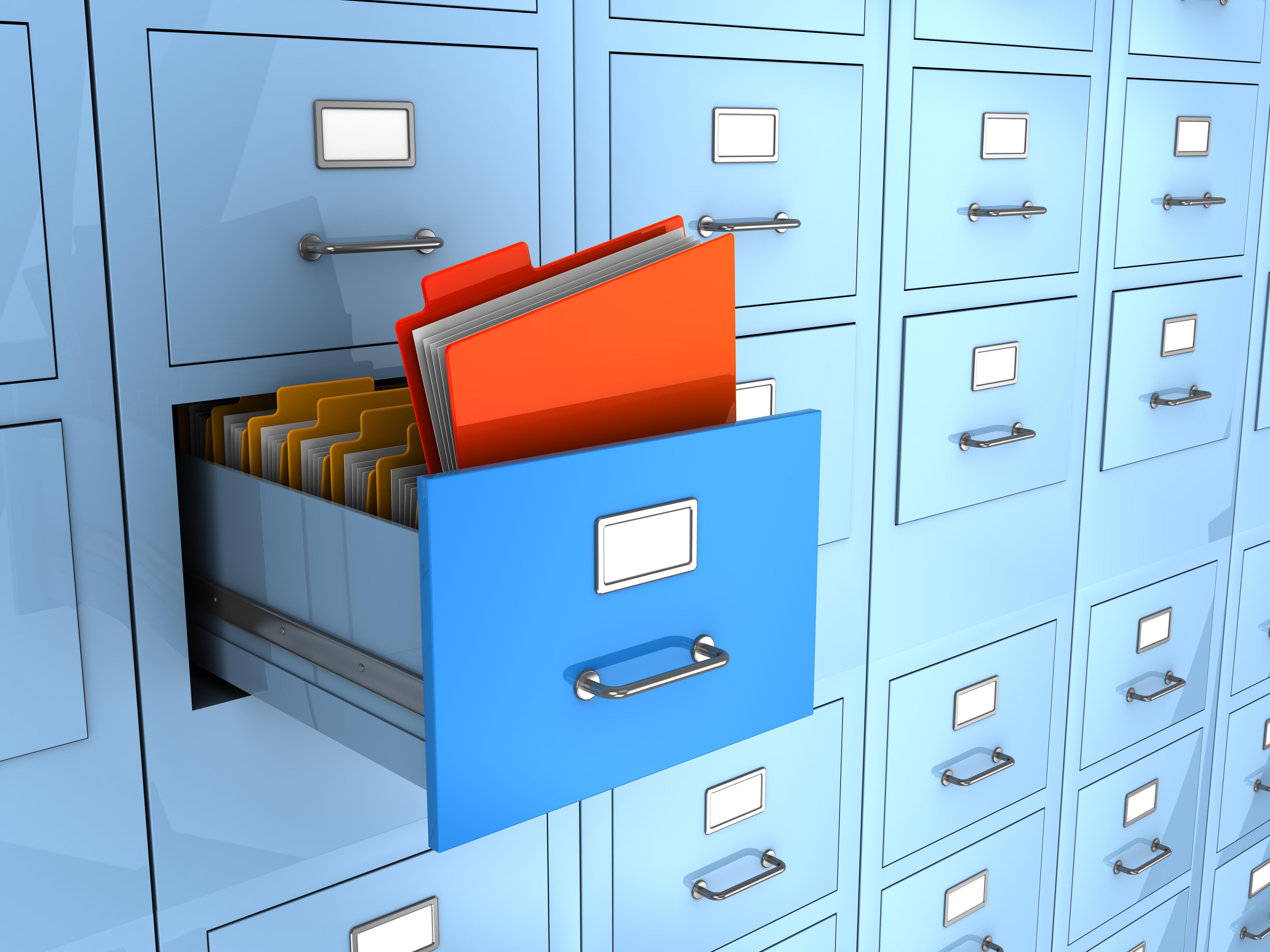 HR compliance file cabinet