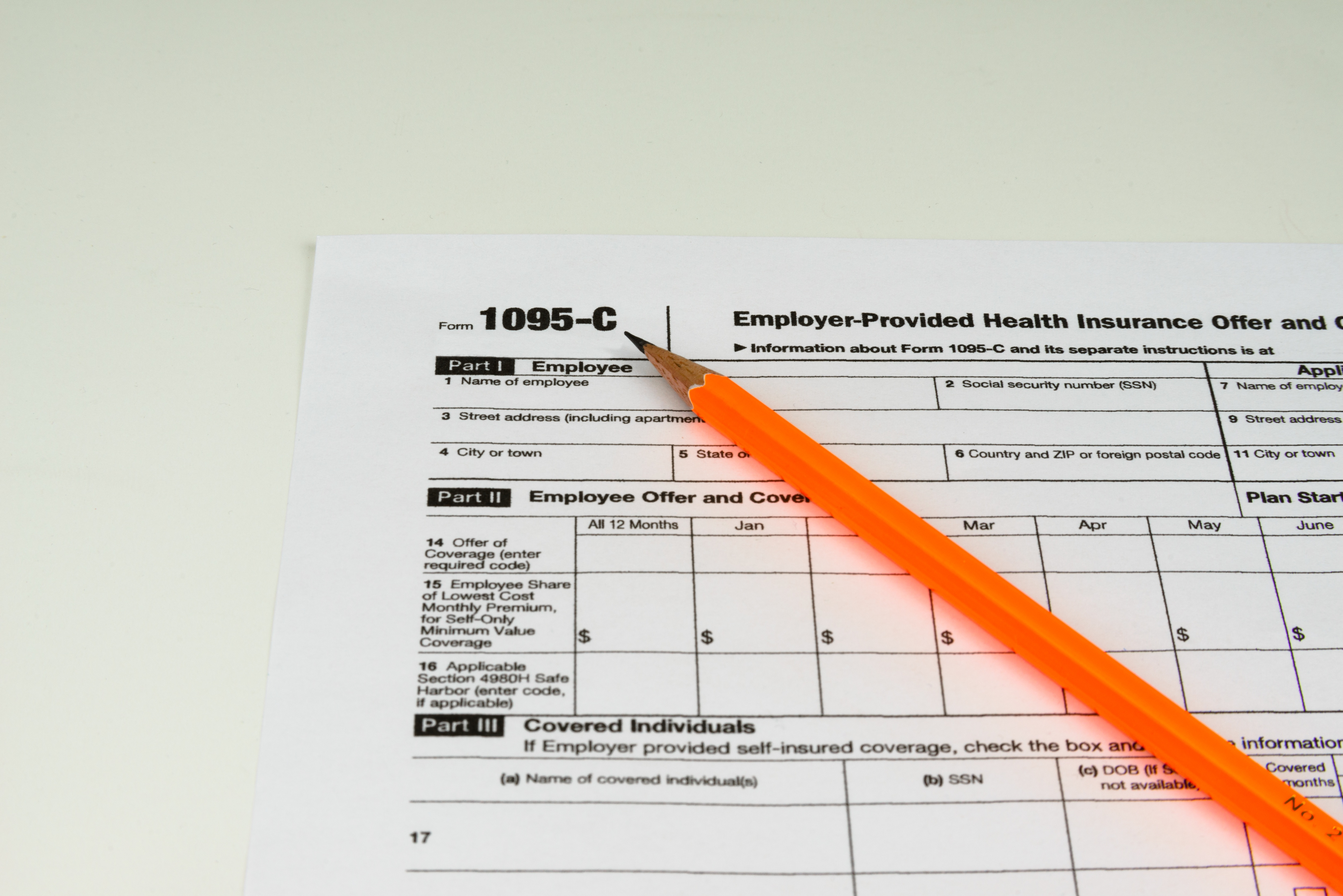 IRS announces new deadline for providing 1095-Cs to employees