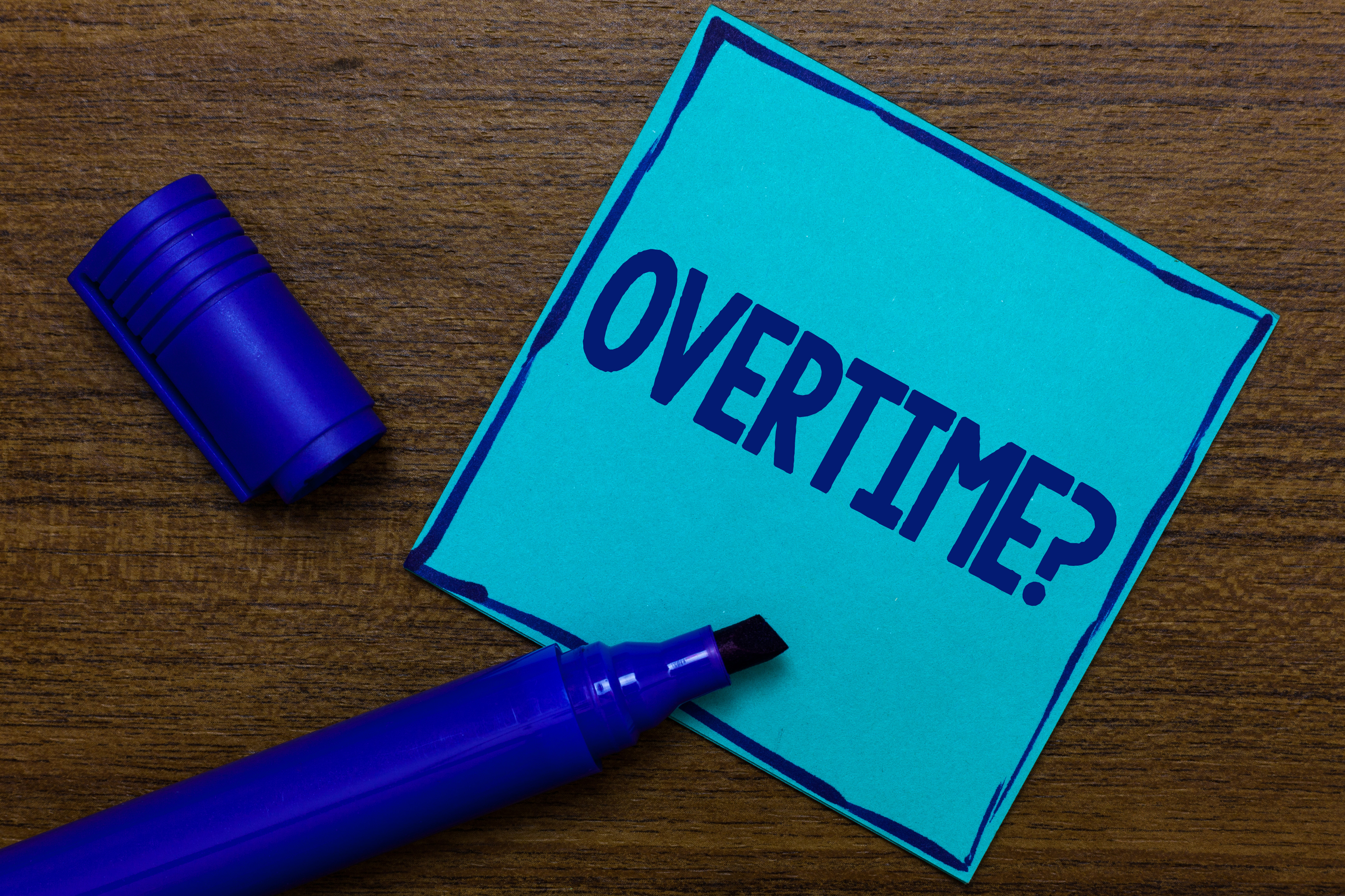 Feds increase overtime threshold for 2020
